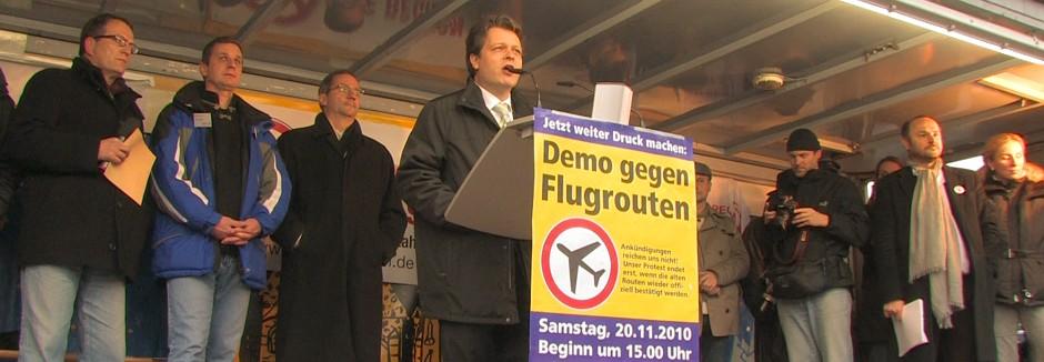 Demo Stahnsdorf, 20.11.2010, Bühne
