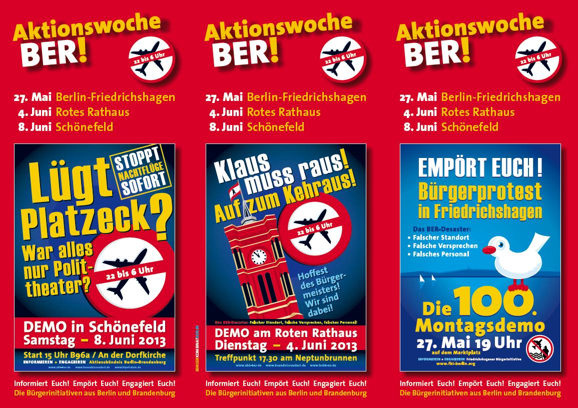 Aktionswoche BER 2013