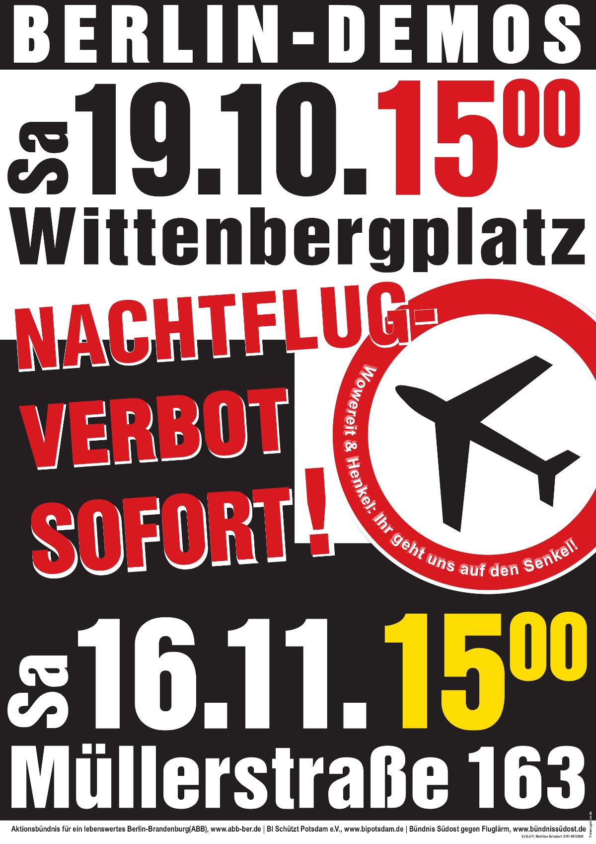 Demo am 19. Oktober 2013
