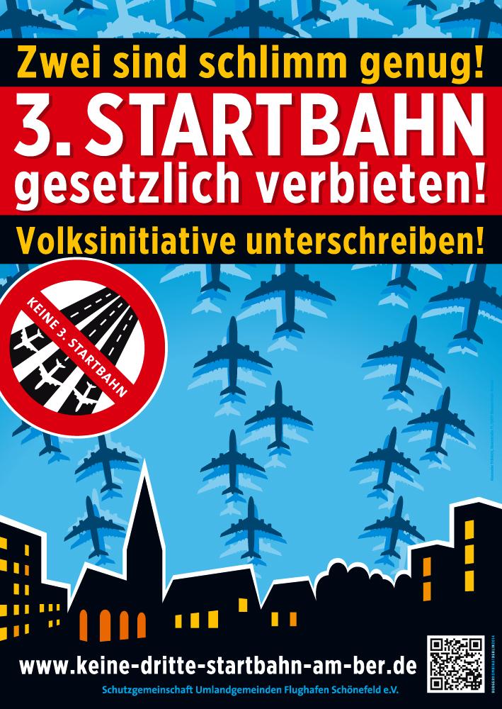 Volksinitiative: Keine dritte Startbahn